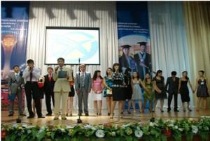 Выпускники 2009 года на церемонии вручения дипломов ( группы ИО-46, ИО-41, МО-44, ГИ-42.