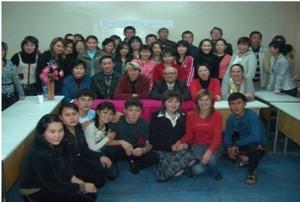 День кафедры археологии, этнологии и Отчественной истории в общежитии, 2007 год