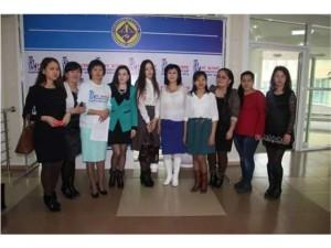 Студенты и преподователи кафедры журналистики на мереприятий «Блогкэмп».