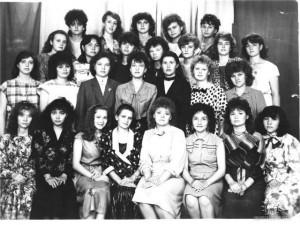Студенты специальности ПиМНО 1989 года выпуска
