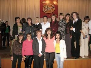Студенты специальности ПиП 2008 года выпуска на вручении дипломов
