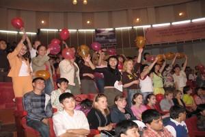 Студенты факультета на Посвящении в студенты-2009