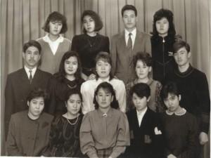 Студенты 1996 года выпуска на 1-м курсе