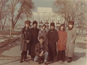 Студенты 1996 года выпуска с Р.Г. Баямановой
