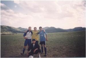 Футбол на археологической практике 2004 год, выпускники группы ИГк-46