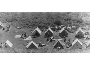 1986 г. Каркаралинск студенты ПиМНО на учебно-полевой практике