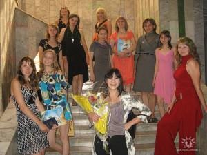 Cтуденты специальности ПиМНО 2009 года выпуска во Дворце студентов