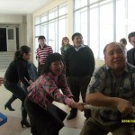 Празднование Наурыза на физико-техническом факультета,март 2012г