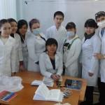 На лабораторном занятии по неорганической химии