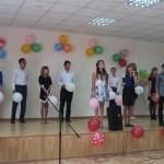 Поздравление от студентов к юбилею проф. М.И. Байкенова, 2015г