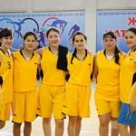 Студентки химического факультета  заняли 1 место в первенстве КарГУ по баскетболу. 2013-2014 уч год